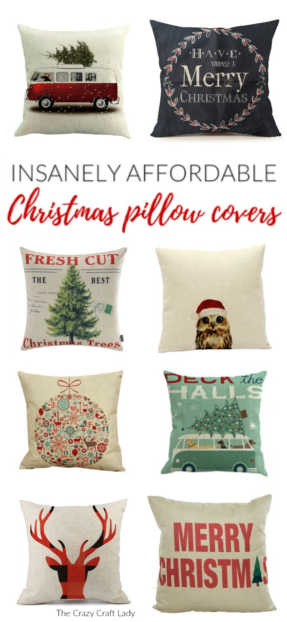 shop farmhouse style christmas pillow covers these budget friendly buys are perfect for changing your home decor for christmas decorate with affordable - Christmas Decorative Pillows