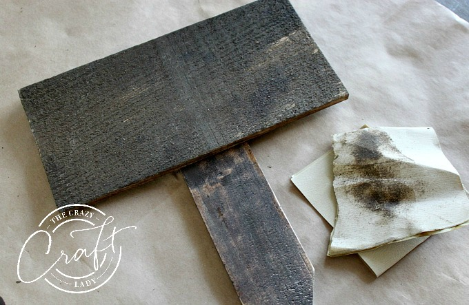 How to stain and distress wood