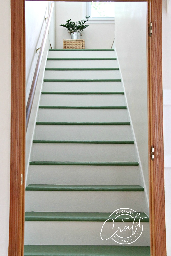 Diy Stair Trim How To Add A Faux Stair Skirt The Crazy