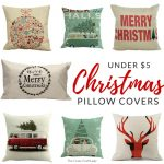 Shop farmhouse style Christmas pillow covers – these budget-friendly buys are perfect for changing your home decor for Christmas. Decorate with affordable throws and pillow covers. Under $5 Christmas Pillows.