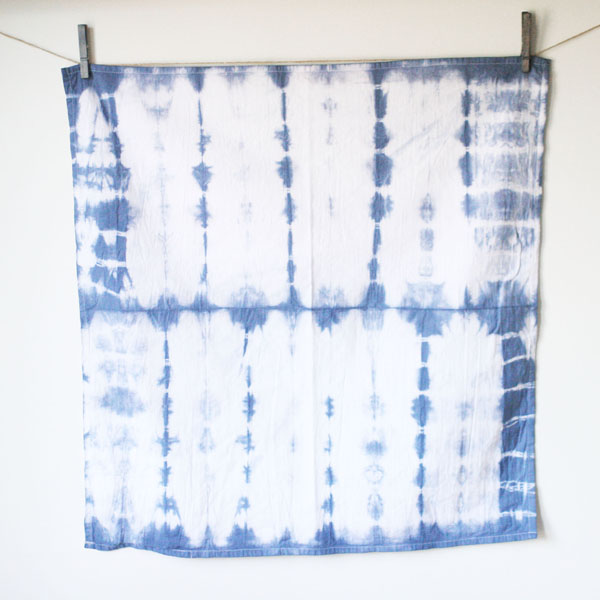How to make DIY Shibori Napkins
