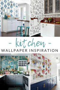 Love the idea of wallpaper, but afraid to pick (or stick?). Get your kitchen design process started with these gorgeous kitchen wallpaper ideas.