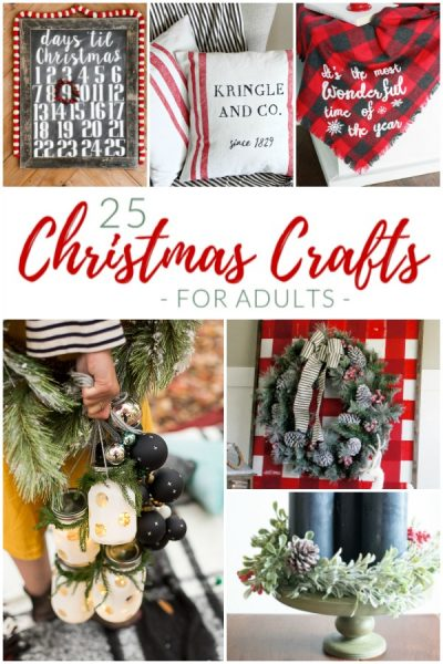 25 Very Merry Christmas Crafts for Adults
