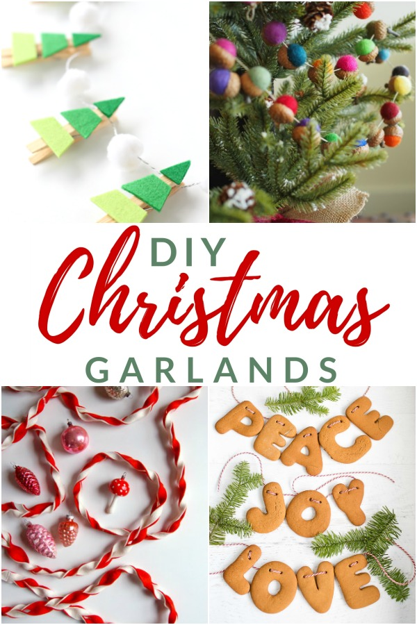 15 New And Unexpected Christmas Tree Garland Ideas The