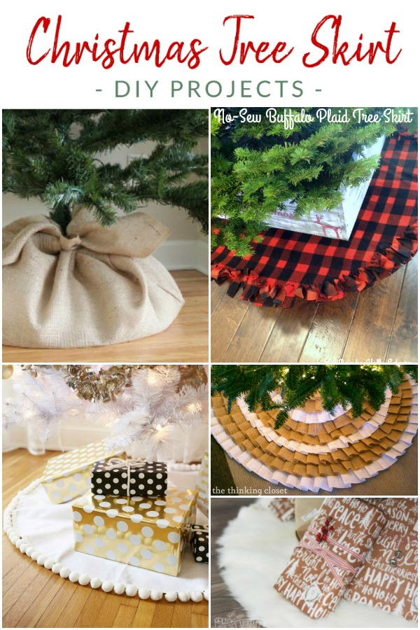 If you're ready to trim your tree this year, I've got the best DIY Christmas Tree Skirt ideas for you. Ranging from rustic ruffled creations to easy felt Christmas tree skirts, you're sure to find a Christmas tree skirt that fits your decor style.