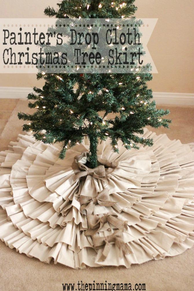 12 Diy Christmas Tree Skirt Ideas For Every Decor Style The Crazy