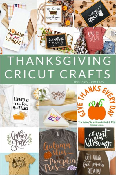 14 FREE Thanksgiving Cut Files to be Thankful for