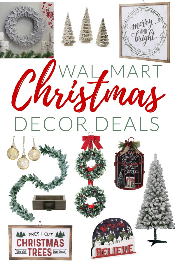 Walmart Christmas Decorations - The Crazy Craft Lady