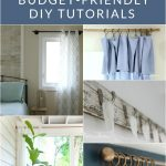 Decorate your home with window treatments that you love and can afford, with these 10 inspiring DIY Curtain Rods.