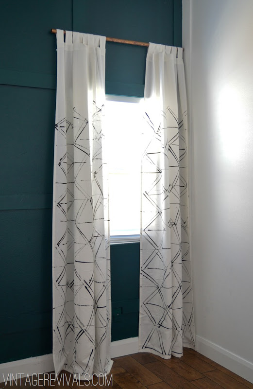 17 Images About Build Ikea Panel Curtain On Pinterest: No-Sew DIY Curtain Panels
