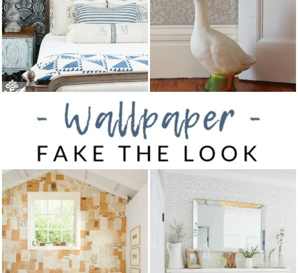 How to cover your walls in pattern and style, without the mess, hassle, or expense of wallpaper.