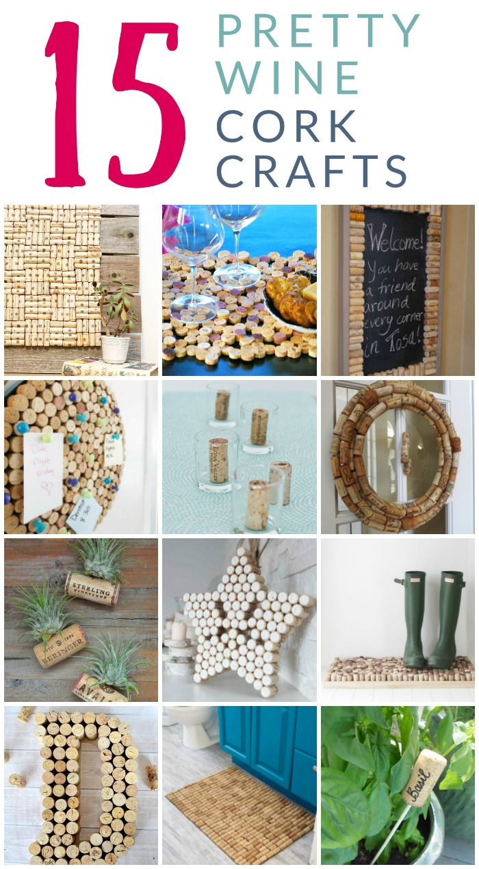15 Pretty AND Functional Wine Cork Crafts