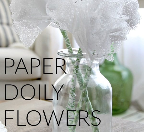 You're going to love these paper doily flowers. It's a quick and easy craft, complete with a video tutorial.