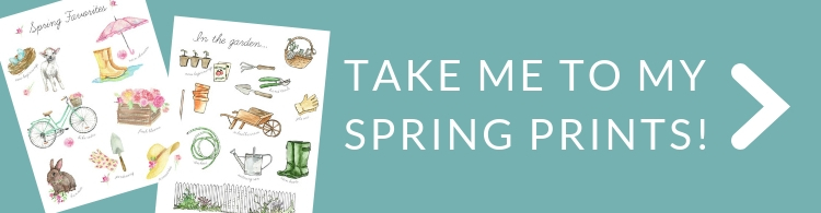 take me to my spring prints