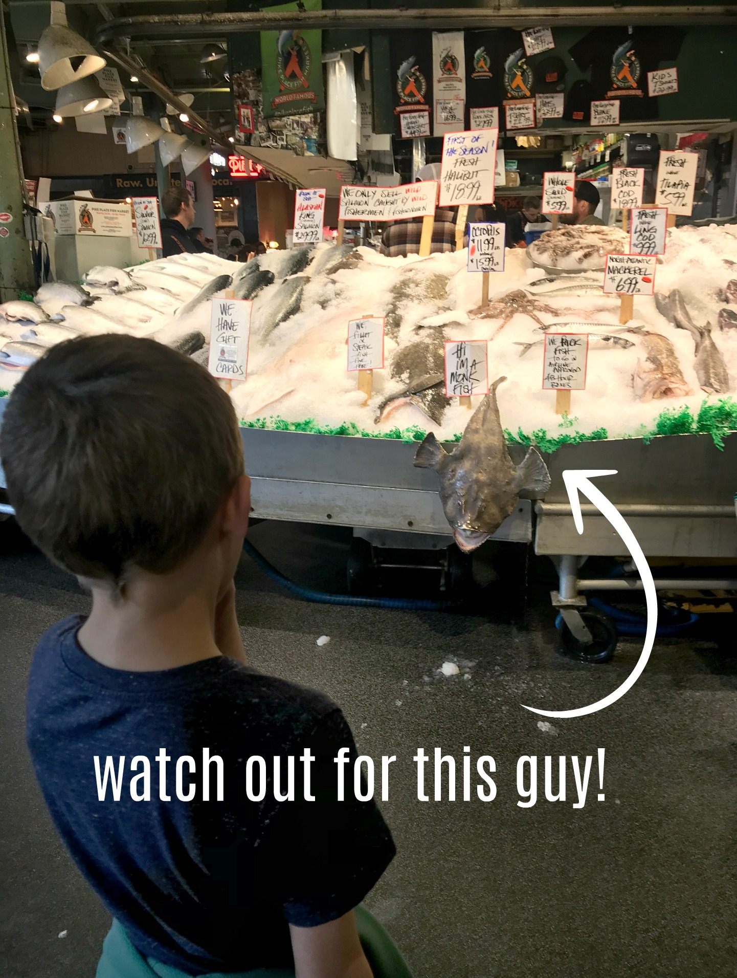 Fish Market Pike Place Seattle