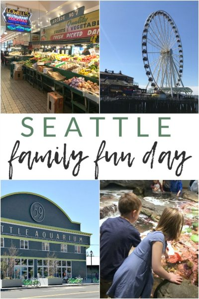 Kid-Friendly Downtown Seattle: a Day Trip Itinerary
