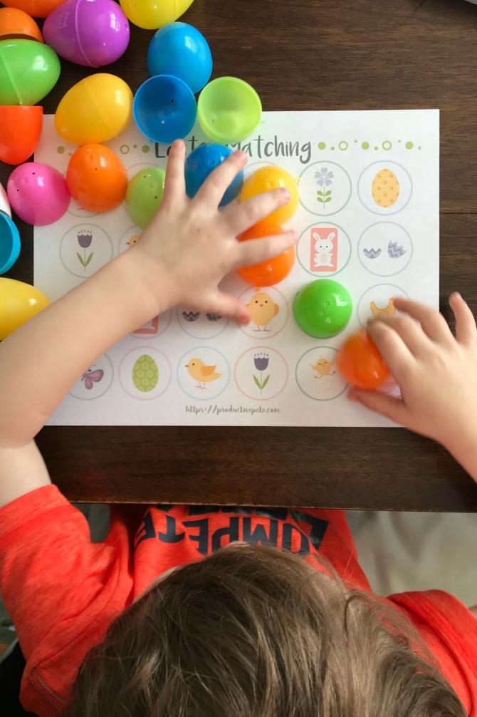 Plastic Egg Memory Game