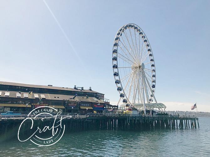 Seattle Great Wheel - Seattle Ferris Wheel at Pier 57