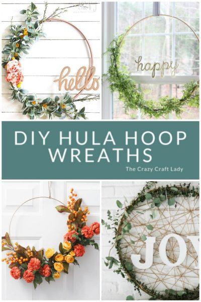 8 Inspiring Hula Hoop Wreath Ideas to Make for any Season
