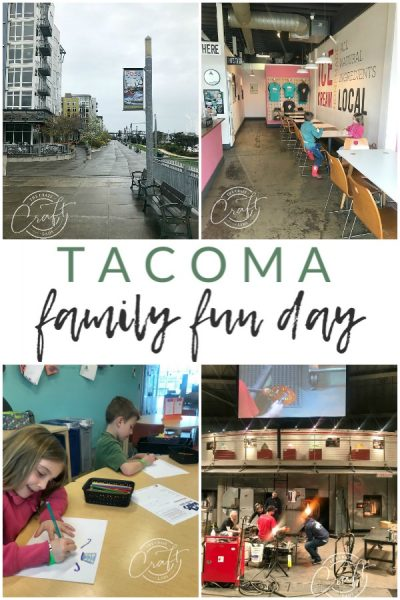 Visiting the Tacoma Museum of Glass with Kids