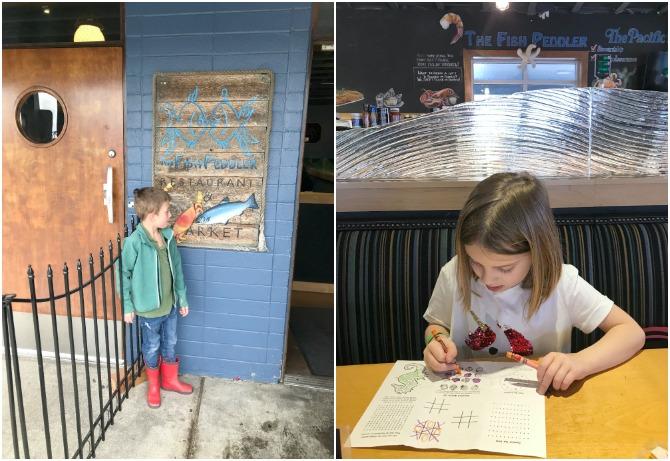 The Fish Peddler restaurant in Tacoma Washington