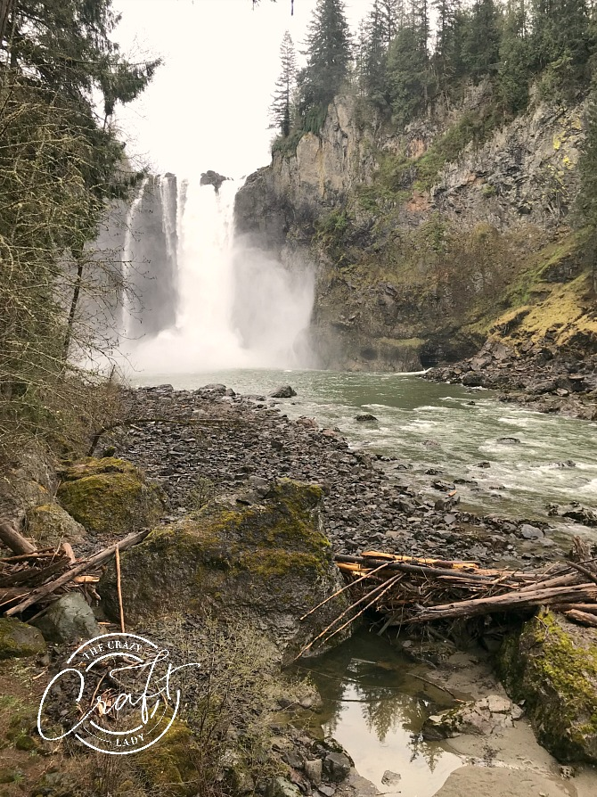 View from the Bottom of Snoqualmie Falls