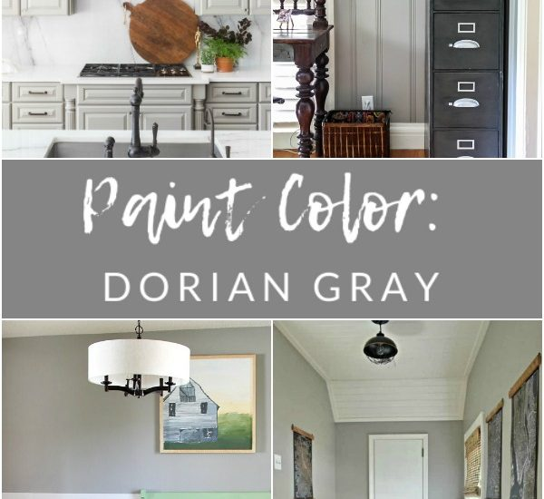 Paint Color - Sherwin Williams Dorian Gray