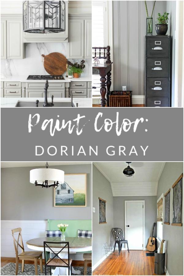Sherwin Williams Dorian Gray SW 7017 - My Favorite Paint ...