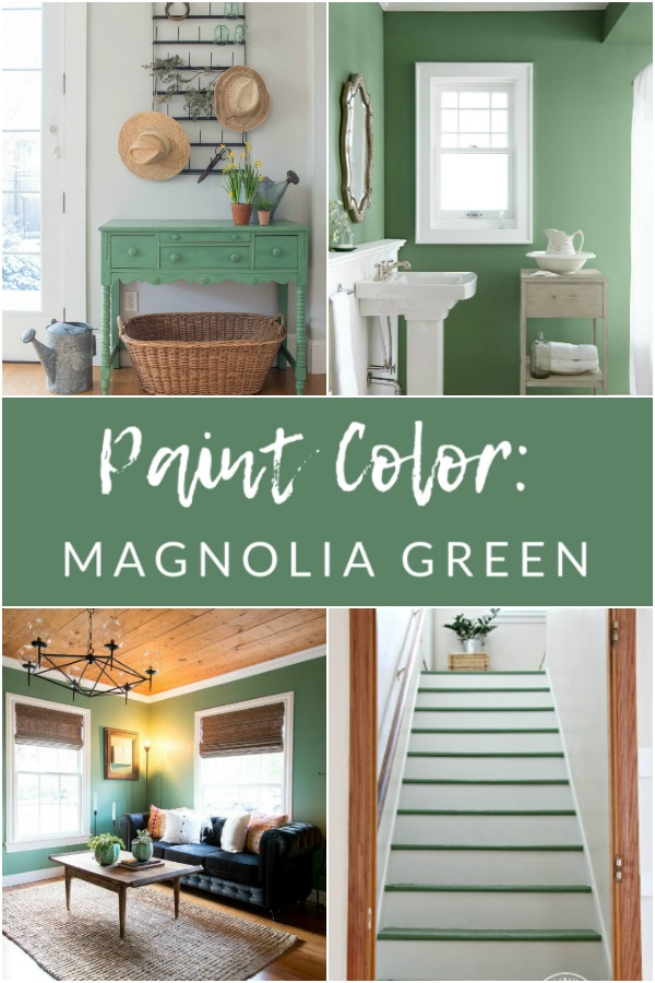 Paint Color: Magnolia Green Paint by Magnolia Home