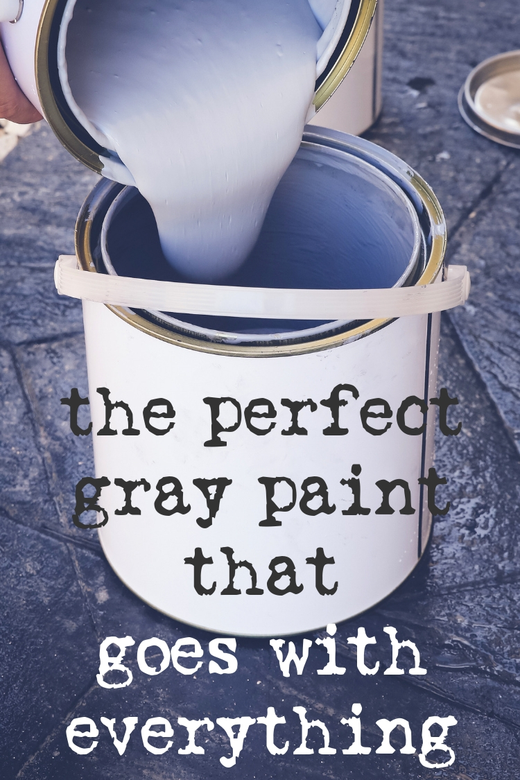 Sherwin Williams Repose Gray - The Perfect Gray Paint that Goes with Everything
