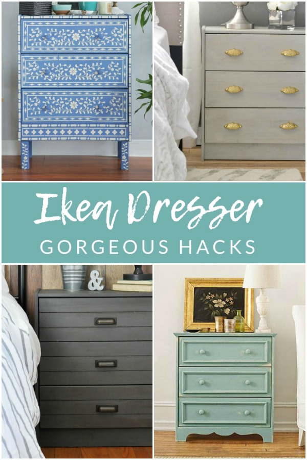 Add a litlte extra storage without breaking the bank with these 15 Ikea Rast Hacks. Completely customize this 3-drawer dresser to suit any space and style.