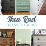 Ikea Rast Hacks - Ikea Rast dresser updates, makeovers, and hacks.
