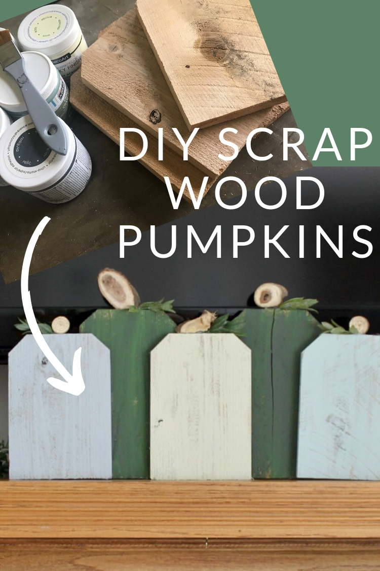 DIY Scrap Wood Pumpkins