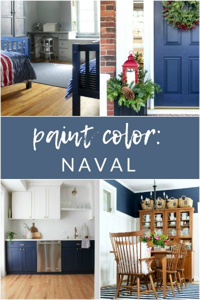 Sherwin Williams Naval SW6244 – My Favorite Paint Colors