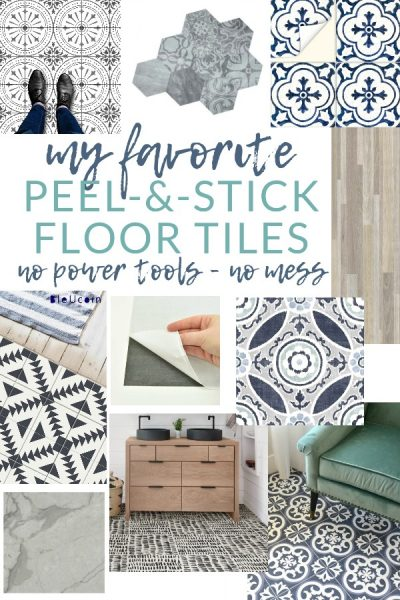 The BEST Peel-and-Stick Vinyl Floor Tile & Decals