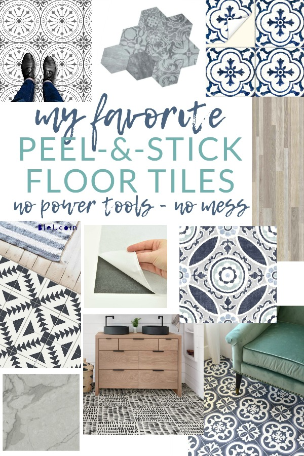 The Best Peel And Stick Vinyl Floor Tile Decals The Crazy