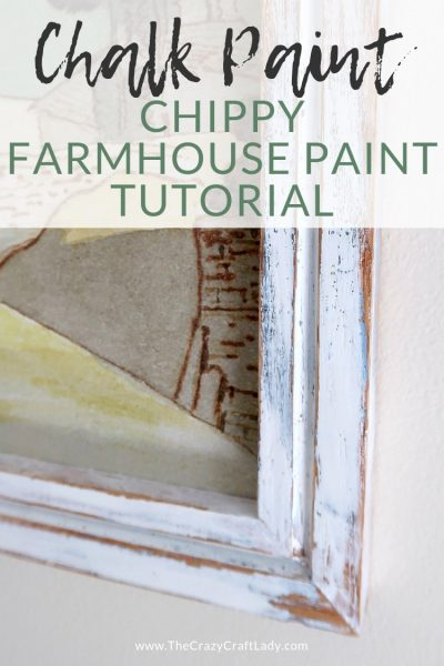 The EASIEST Layered, Chippy, Distressed Chalk Paint Tutorial