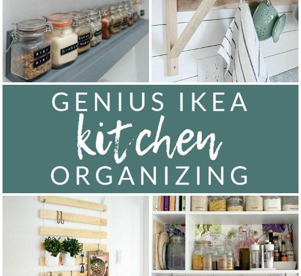 Genius Ikea Kitchen Organizing - Create extra kitchen storage with these clever Ikea hacks!