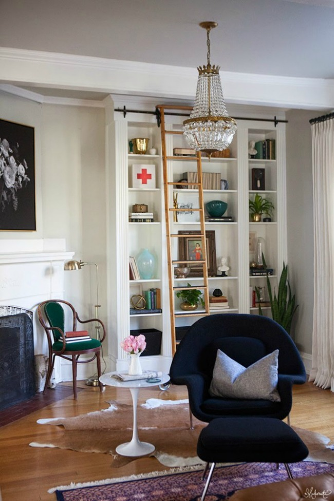 Ikea Billy Bookcase Library Shelving Hack