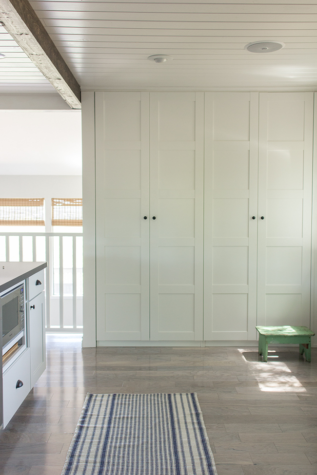 Ikea Hack Built in Pantry Closets