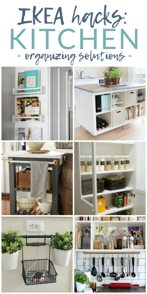 Ikea Hacks - Kitchen Organizing Solutions