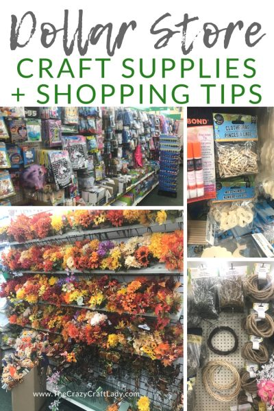 Come shopping with me at my local Dollar Tree, where I'm sharing my favorite dollar store craft supplies and shopping tips for crafters.