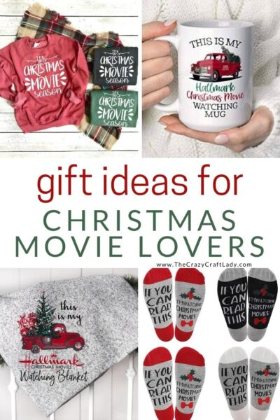 Are you (or is someone you know) obsessed with Hallmark holiday movies? These Hallmark Christmas movie gifts pair perfectly with a cozy winter night and a heartwarming holiday movie.