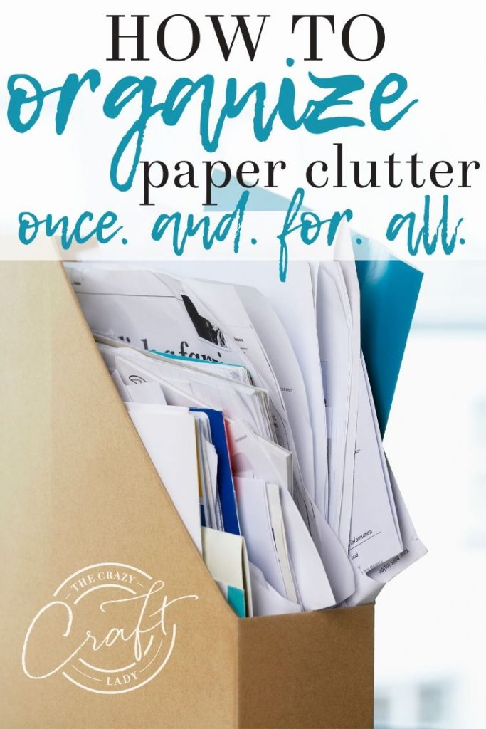 The only way to manage and organize paper clutter is to get rid of it. It's not to buy more storage or filing boxes. Here's how I have reduced the paper clutter in our home and digitized 90% of the paper that comes into our home.
