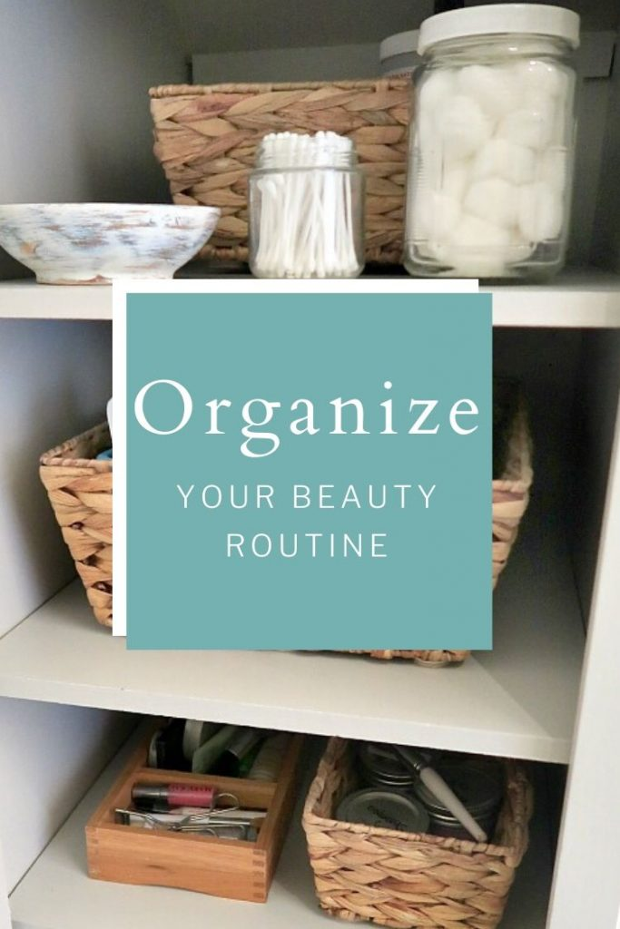 Follow my EASY 3-step process to minimize and organize cosmetics and jewelry. These are the questions you NEED to ask yourself if you want an organized bathroom!