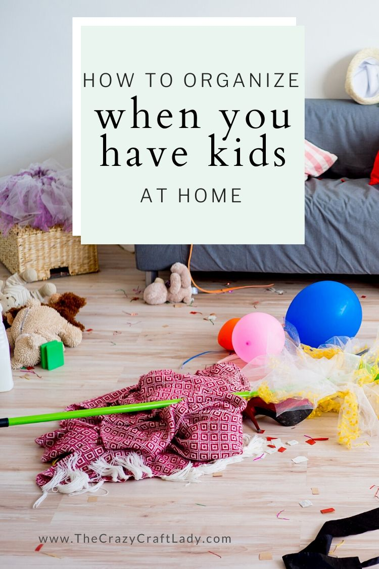 5 Tips for Keeping Kids STUFF Organized at Home