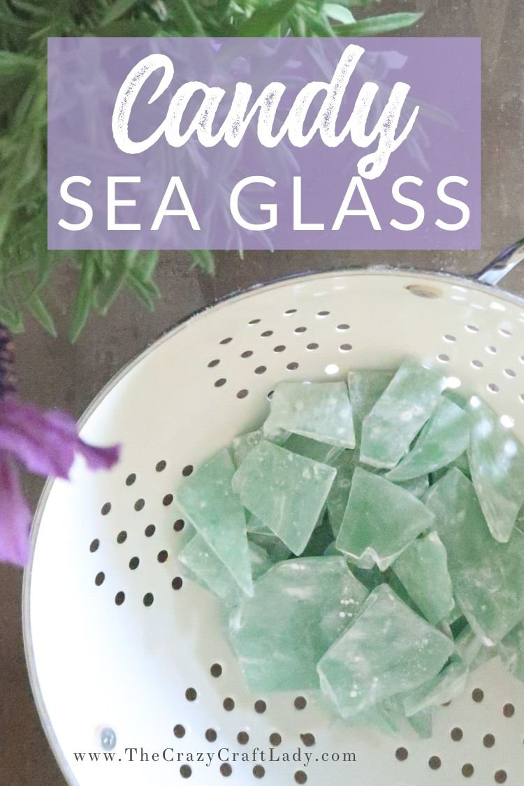 How to make homemade sea glass candy. This simple candy recipe comes together with three simple ingredients: water, corn syrup, and sugar. Add a favorite flavoring and dye of your choice for endless ways to customize this seriously EASY candy recipe!
