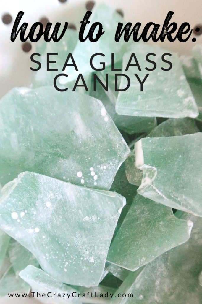 This delicious sweet hard candy is great to make with kids, or to hand out as a favor for an ocean or beach themed party.