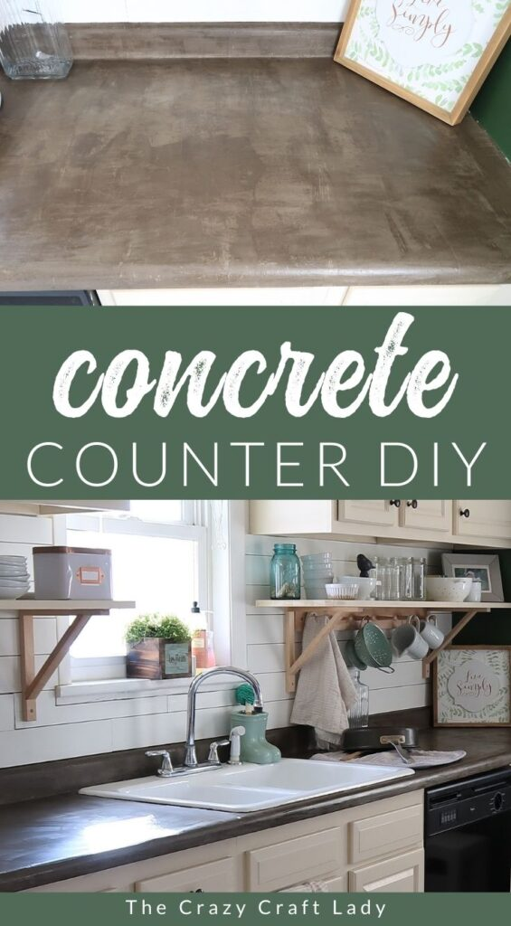 See how I transformed my dated kitchen with skim coat concrete counters. This budget-friendly DIY decor project can easily be completed in just a weekend.